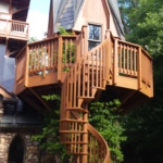 An Ohio castle getaway - perfect for a staycation or romantic weekend away!