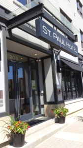 Great urban Ohio getaways lead us to the St. Paul Hotel in downtown Wooster!