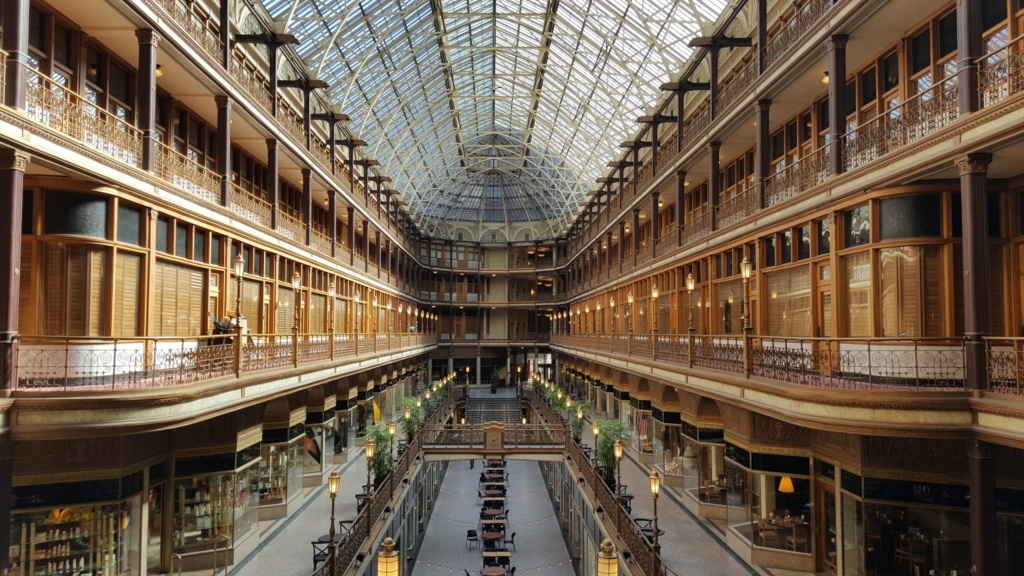 Great lodging in Downtown Cleveland