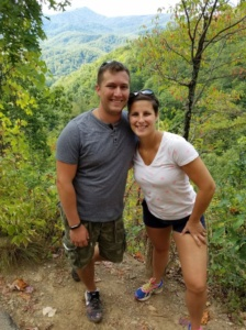 Hiking in Pigeon Forge