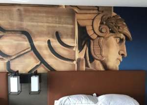 Great new Hilton for modern, upscale lodging in downtown Cleveland.