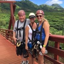 Ziplining in Kauai, Hawaii Old Koloa Town, Old Koloa Sugar Mill