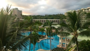 Kauai Marriott Resort Room View Pool Facing