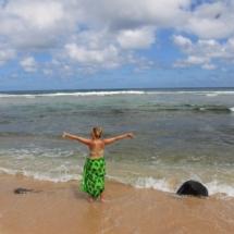 Larsen's Beach in Kauai, Hawaii