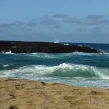 North Shore Beach Kauai, Hawaii