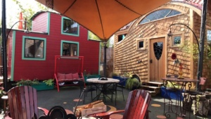 The Caravan Tiny House Hotel Portland, Oregon