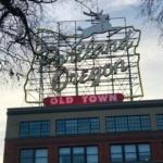 White Stag Sign - Portland, Oregon sign