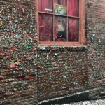 gum wall at Pike Place Market Seattle Washington